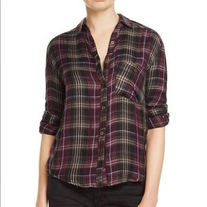 Free People Flannel size XS